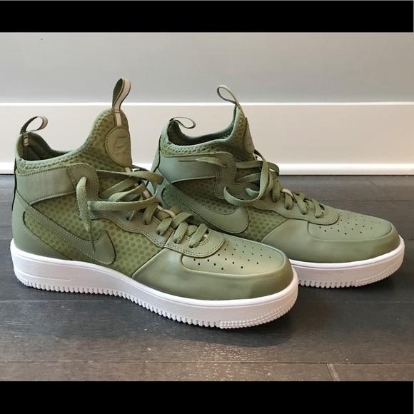 Nike Air Force 1 UltraForce Mid Men's Shoe Size 11.5 (Blue
